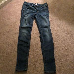 Pacsun Bullhead Black skinniest Jean